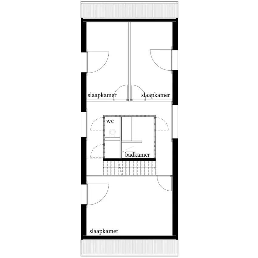 Proiecte de case in stil belgian Flemish style house plans 12