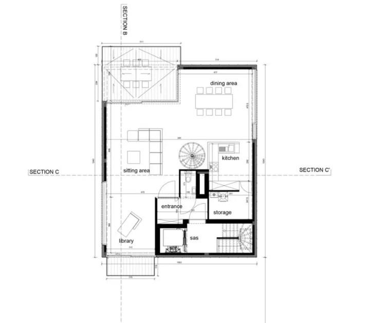 Proiecte de case in stil belgian Flemish style house plans 7