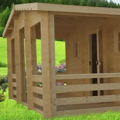 casute de gradina cu terasa Garden summer houses with verandas 3