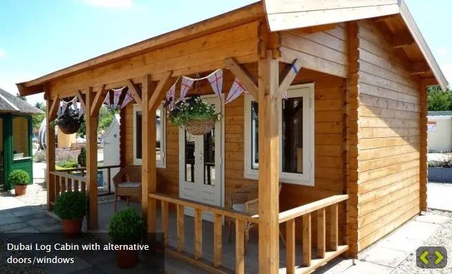 casute de gradina cu terasa Garden summer houses with verandas 6