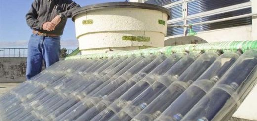 Panou solar din pet-uri foarte eficient
