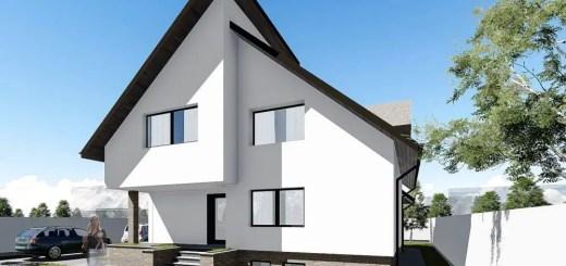Proiecte de case cu demisol foarte atractive