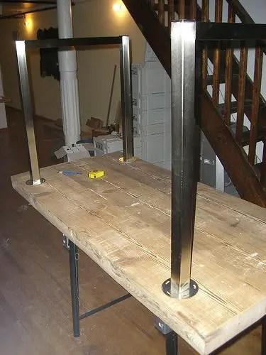 Construirea unei mese din lemn acasa