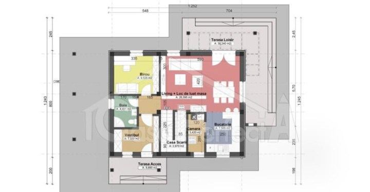 Proiecte de case cu amprenta de 80 mp 800 square feet house plans 9