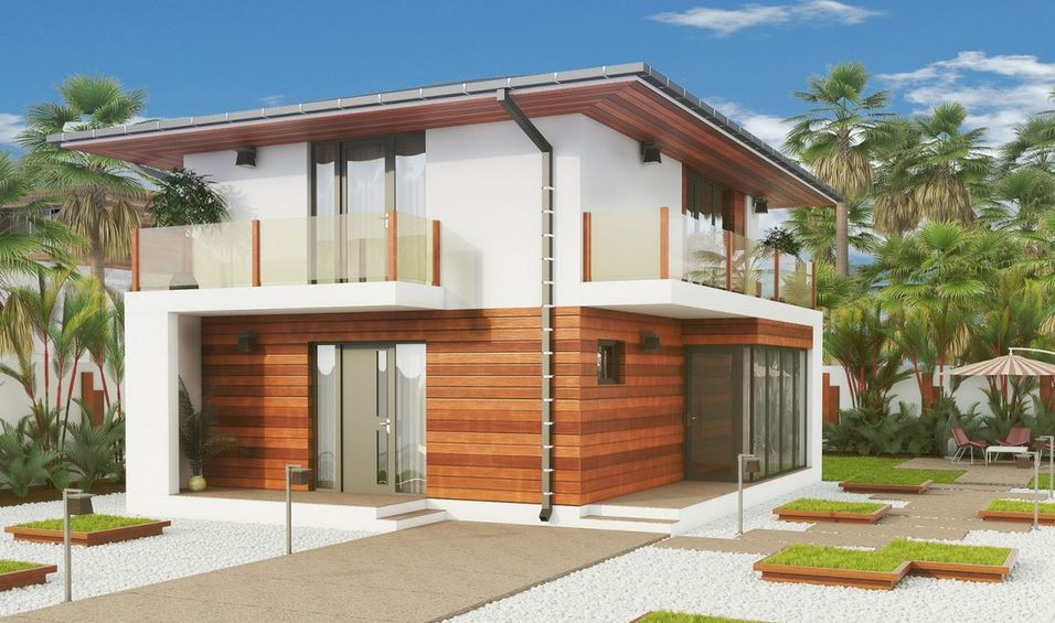 proiecte de case mici cu 2 dormitoare alegerea optima