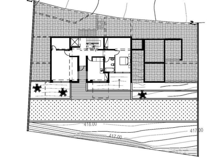 case cu terase din sticla house plans with glass terrace 5