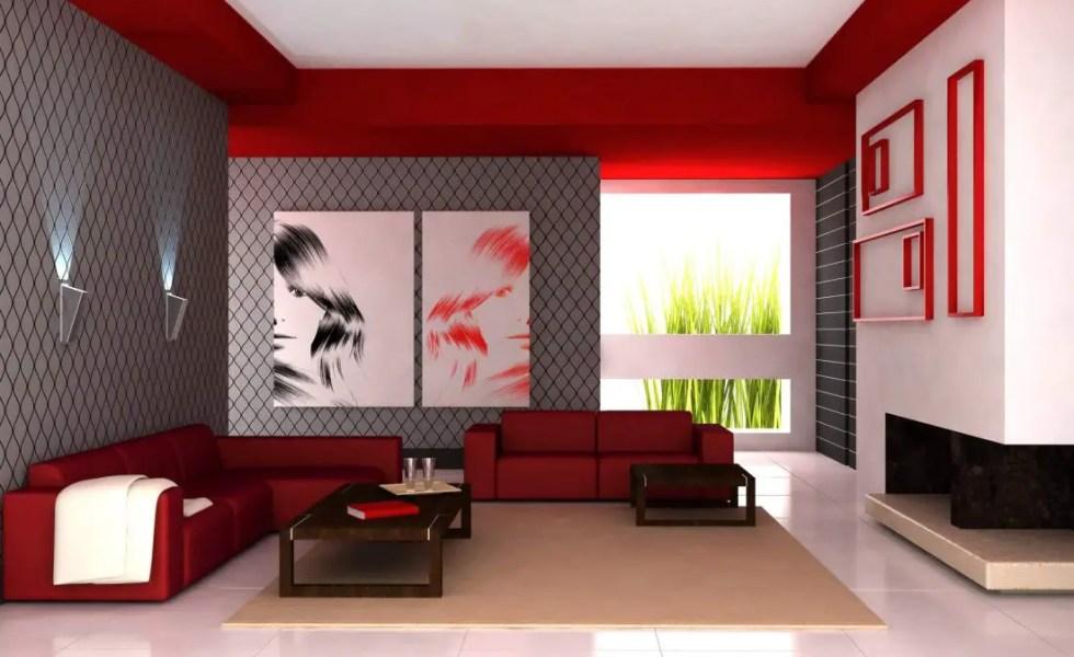 Culori pentru un living modern si primitor