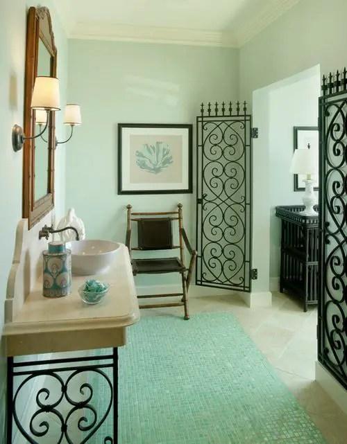 Decoratiuni interioare din fier forjat frumoase