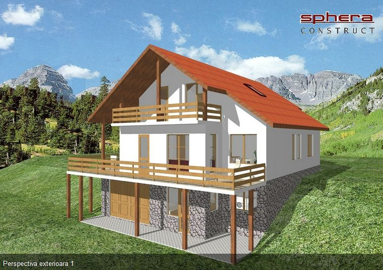 proiecte de case in panta slope house plans