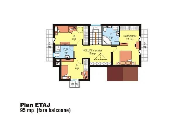 proiecte de case in stil clasic classic house plans designs 4