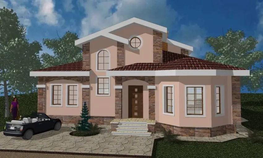 Proiecte de case in stil clasic elegant