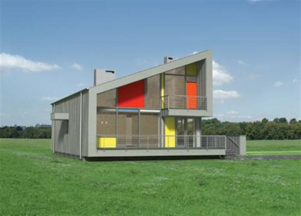 proiecte de case moderne cu mansarda modern house designs with attic 10