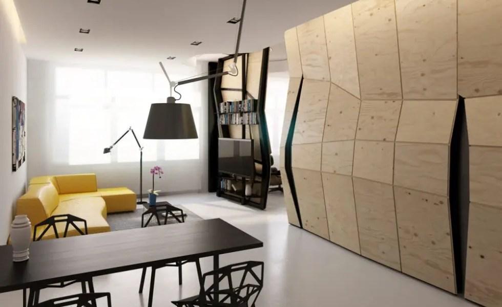 Transformarea unei garsoniere in apartament spatios