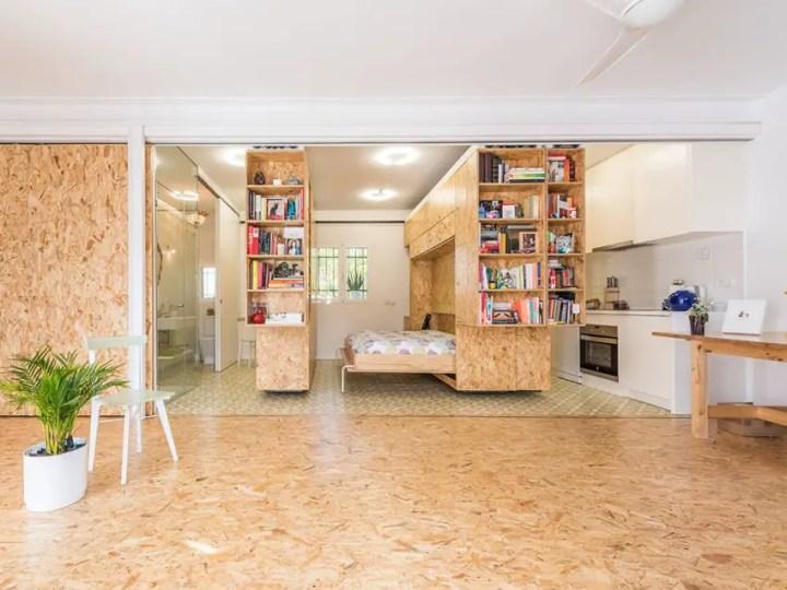 transformarea unei garsoniere in apartament transforming a studio apartment 12
