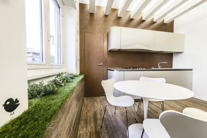 Apartamentul verde din Roma