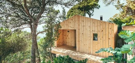 Cabana pasiva din Spania este ecologica