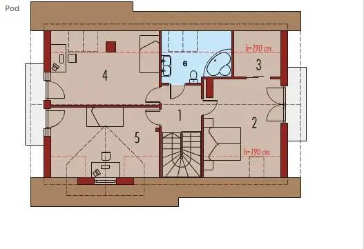 case cu lucarne Dormer window house plans 6