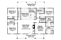 Colonial style house plans - three centuries of refinement