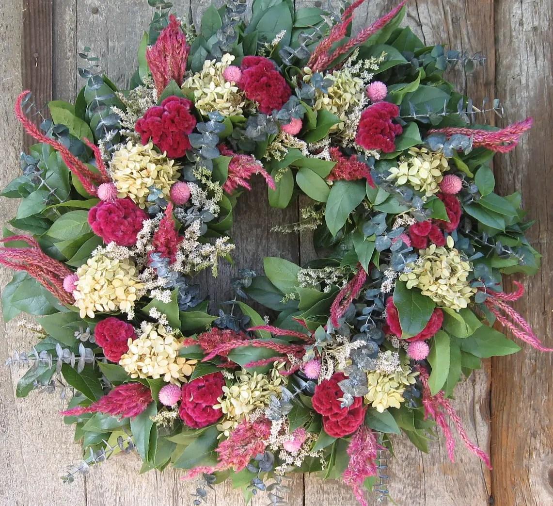 Cele mai frumoase aranjamente cu imortele vitalitate peste iarna - Best dried flower arrangements a colorful winter ...