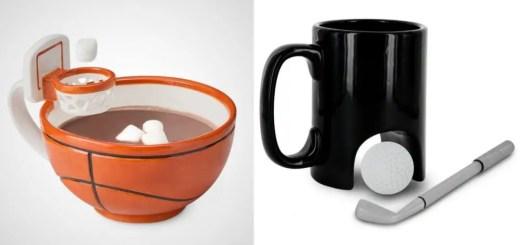 Cesti de cafea cu un design ingenious in bucatarie