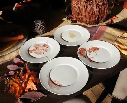 Decoratiuni din frunze uscate toamna