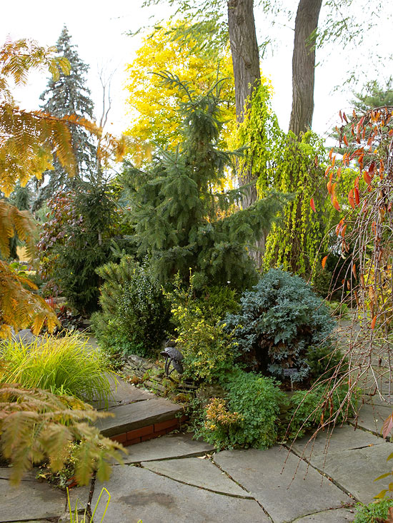 fall landscaping ideas - mosaic