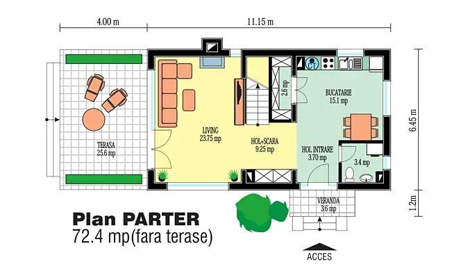 proiecte de case din barne Timberframe house plans 9