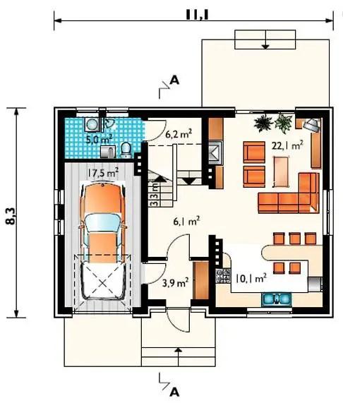 proiecte de case mici din osb Osb house building 2
