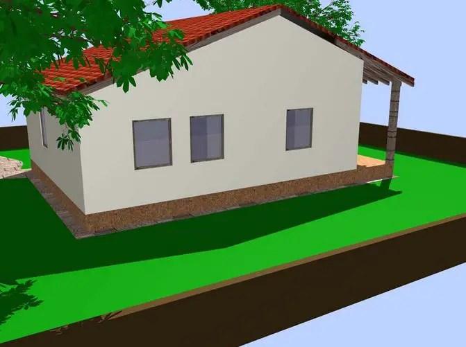 proiecte de case mici din osb Osb house building 6