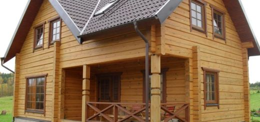 Vreau sa construiesc o casa din lemn eficienta