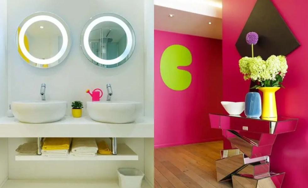 Apartamentul colorat din Rusia
