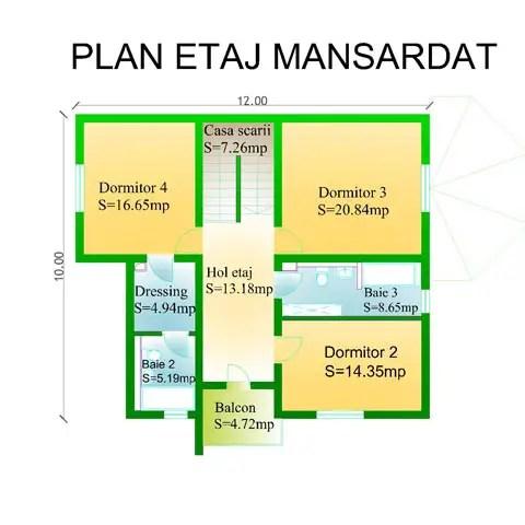 case cu bovindou Bay window house plans 4