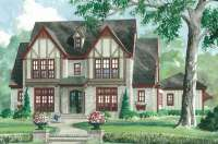Tudor style house plans - noble architecture