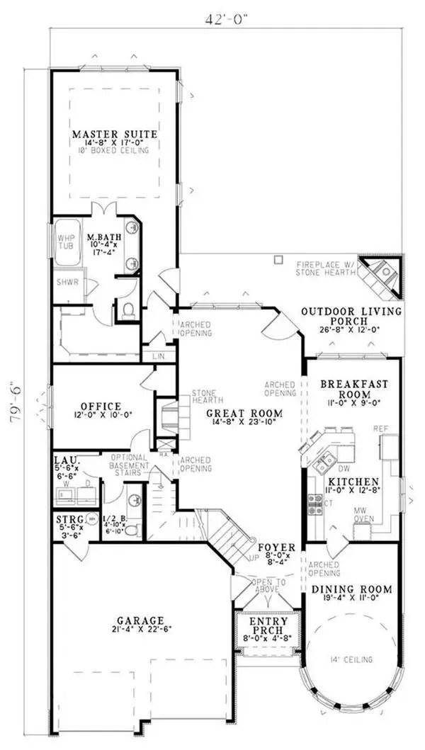 case in stil Tudor Tudor style house plans 8