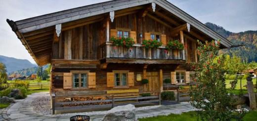 Case in stil bavarez frumoase