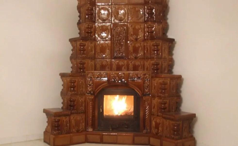 Centrala termica in soba de teracota acasa