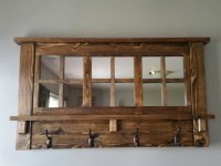 Rustic Wood Coat Racks