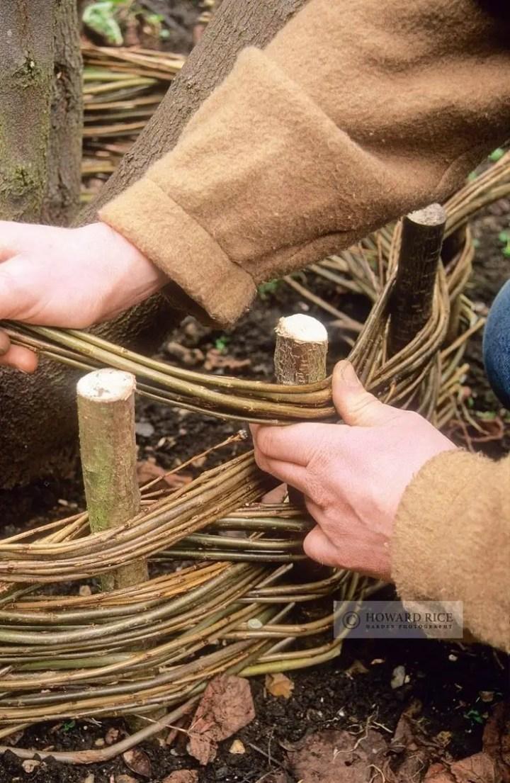 gardulete din lemn pentru gradina Garden fencing ideas 14
