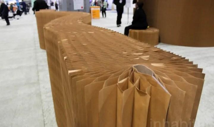 mobila din hartie paper furniture 3