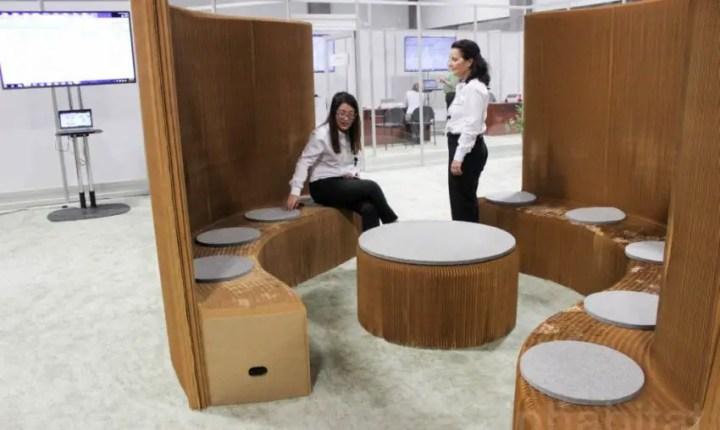 mobila din hartie paper furniture 7