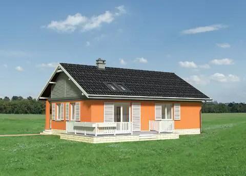 proiecte de case mici sub 100 de metri patrati Small houses under 100 square meters 5