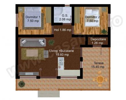 case construite din panouri sandwich Sandwich panel houses 10