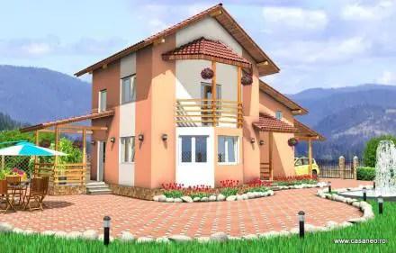 case construite din panouri sandwich Sandwich panel houses 13
