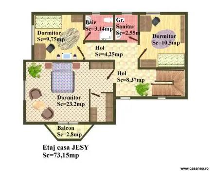 case construite din panouri sandwich Sandwich panel houses 15