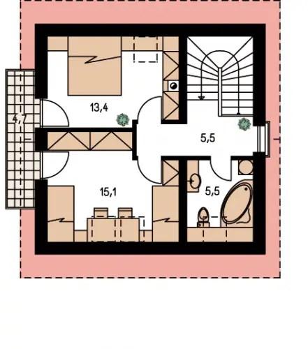case pe structura usoara Light frame house plans 10