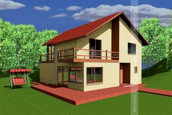 Case pe structura usoara pe interior