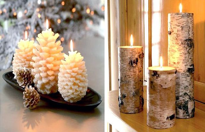 cele mai frumoase decoratiuni de craciun The most beautiful natural Christmas decorations