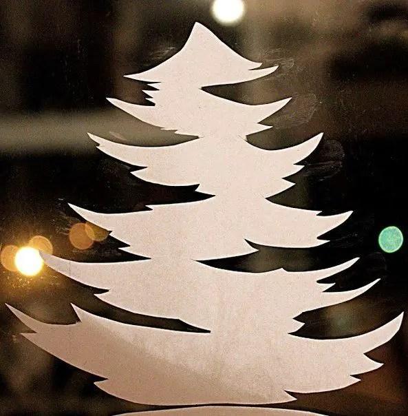 decorarea geamurilor de craciun Christmas window design ideas 17