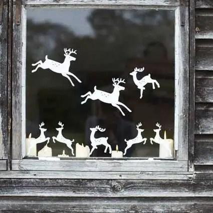 decorarea geamurilor de craciun Christmas window design ideas 19