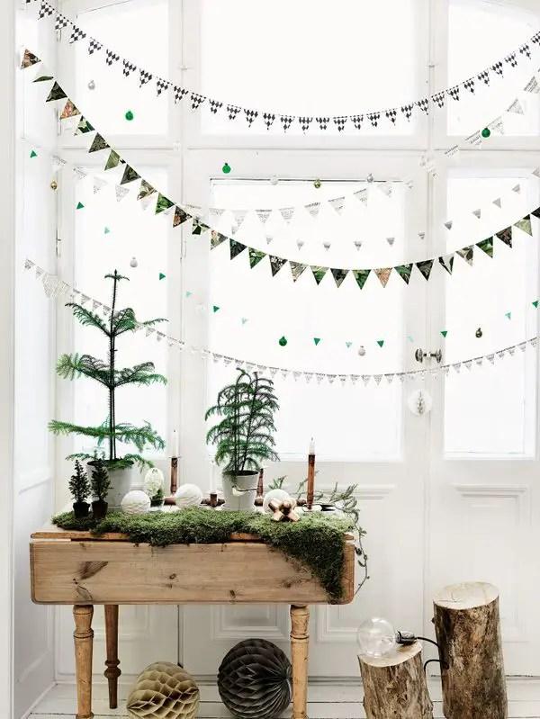decoratiuni de craciun pentru spatii mici Christmas decorations for small spaces 12